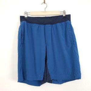 Lululemon T.H.E. Blue Athletic Shorts Mens Large